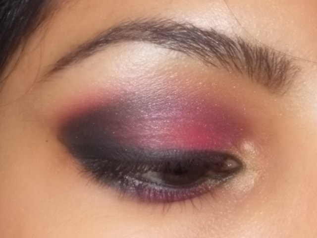 Eye Makeup Look - Pink Secret