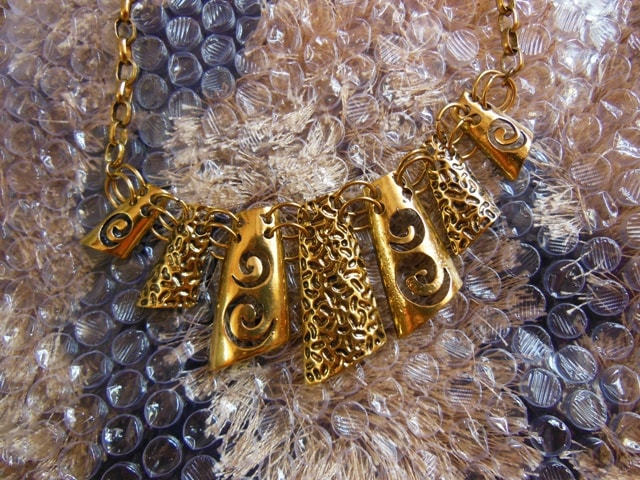 Gold Statement Necklace from Jabong