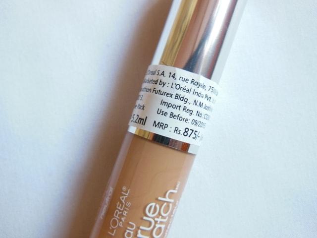 L'Oreal Paris True Match Super-blendable Concealer Light-Medium Price