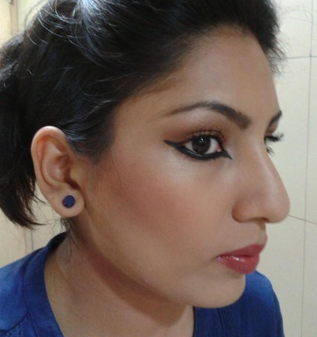 Lakme Fashion Week Inspired Eye Liner Makeup Look1