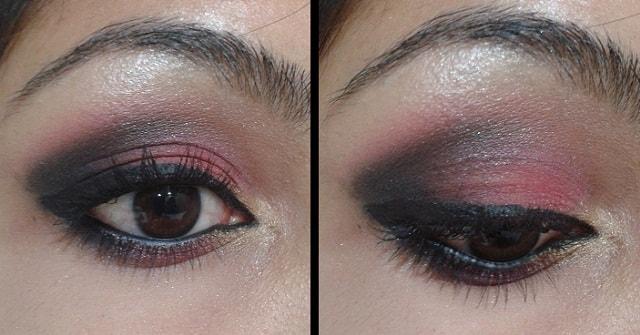 Smokey Pink Eye Makeup