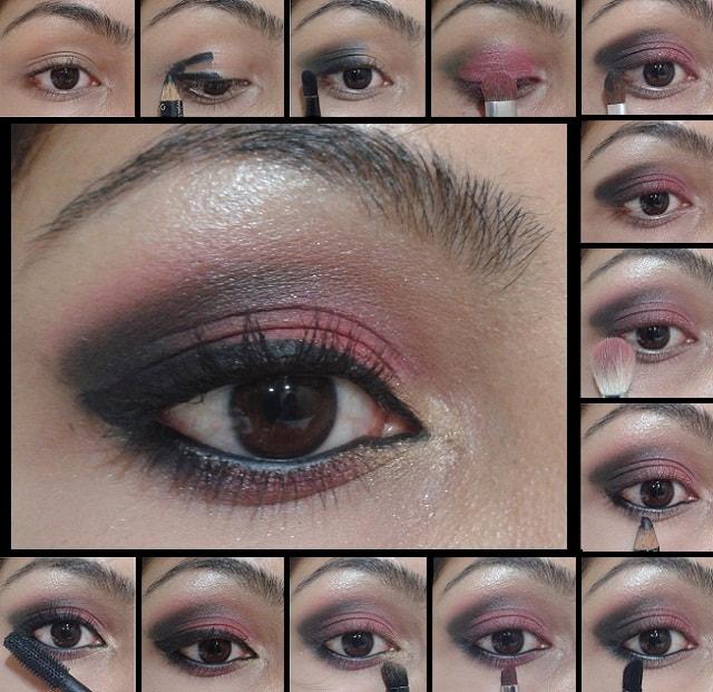 Eye Makeup Tutorial- Smokey Pink Eyes