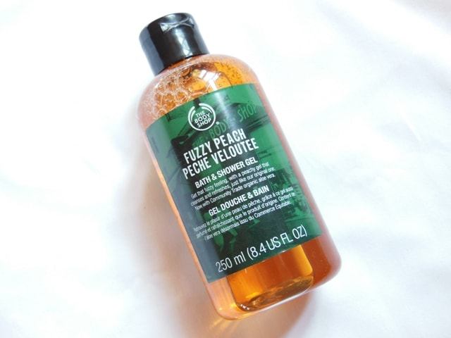 The Body Shop Fuzzy Peach Bath & Shower Gel Review