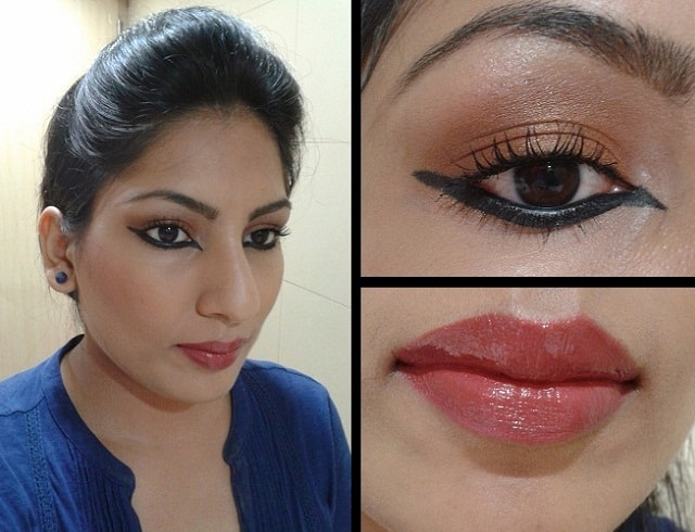 What Am I Wearing Today- Lakme Fashion Week Inspired Eye Liner