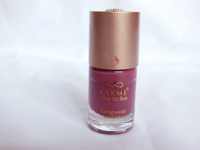 Blog Sale- Lakme Nine To Five Nail Paint Lavendar Lush