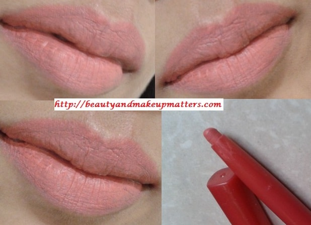 Blog Sale-Lotus-Herbals-Seduction-LipLiner-Coral-Pink-Swatch