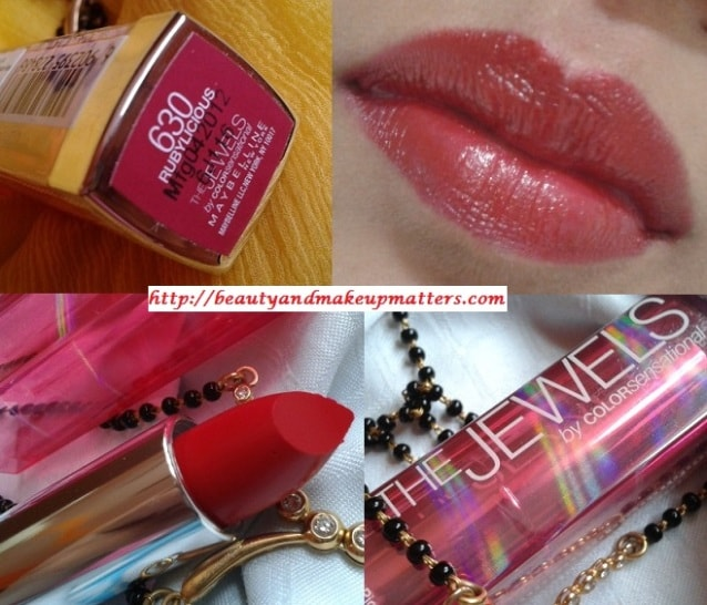 Blog Sale-Maybelline-Color-Sensational-Jewels-Lipstick-RubyLiocious-Swatch