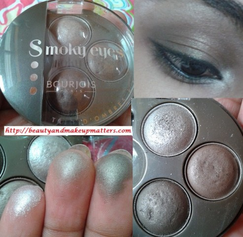 Blog sale -Bourjois-Smoky-Eye-Trio-Lady-Vert-De-Gris-Look