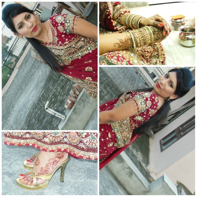 Karvachauth Special - Wedding Lehenga Look 3