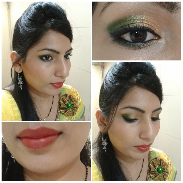 Karwachauth Makeup Look