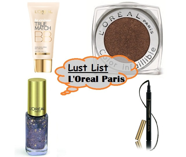 L'Oreal Paris Lust List