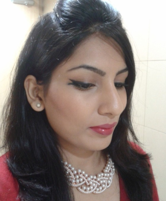 Lakme Fashion Week Inspired Fishtail Eye Liner Look 3