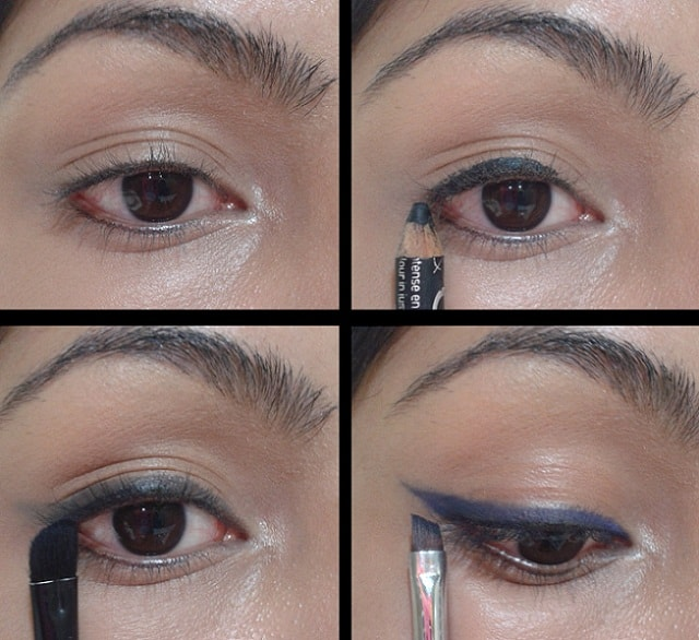 Makeup Tricks - Use Eye shadow as Eye Liner