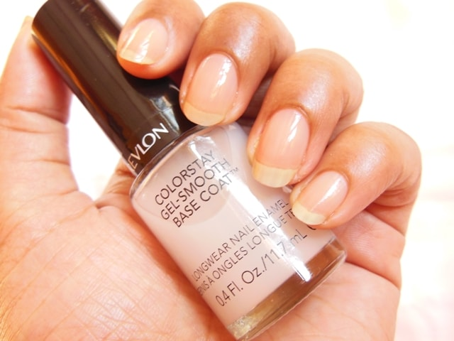 Revlon Colorstay Gel - Smooth Base Coat Nail Enamel Swatch