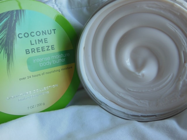 BBW Signature Collection Coconut Lime Breeze Body Butter