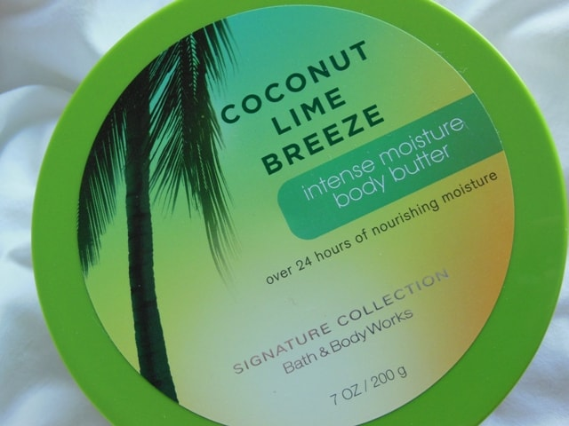 Bath and Body Works Body Butter Coconut Lime Breeze