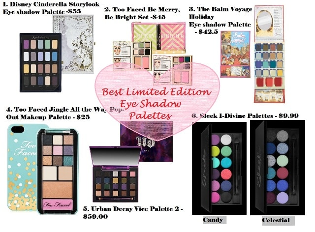 Best Limited Edition Eye Shadow Palettes