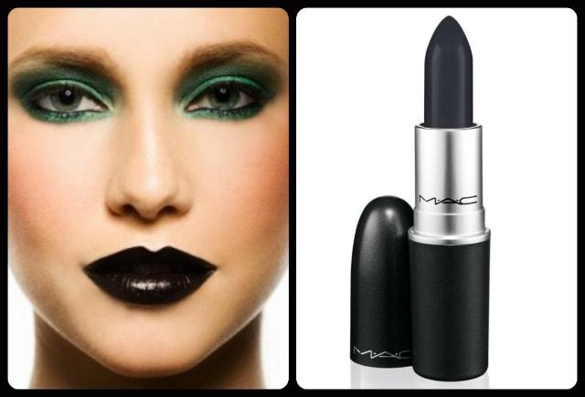 Black Lipstick - MAC Hautecore Lipstick
