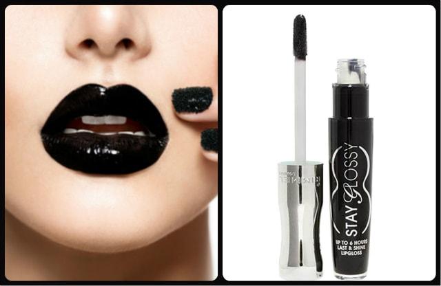 Black Lipstick - Rimmel Stay Glossy Black Diva Lip Gloss