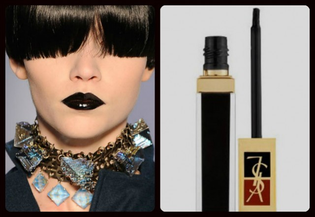 Black Lipstick - Yves Saint Laurent Pur Black Gloss