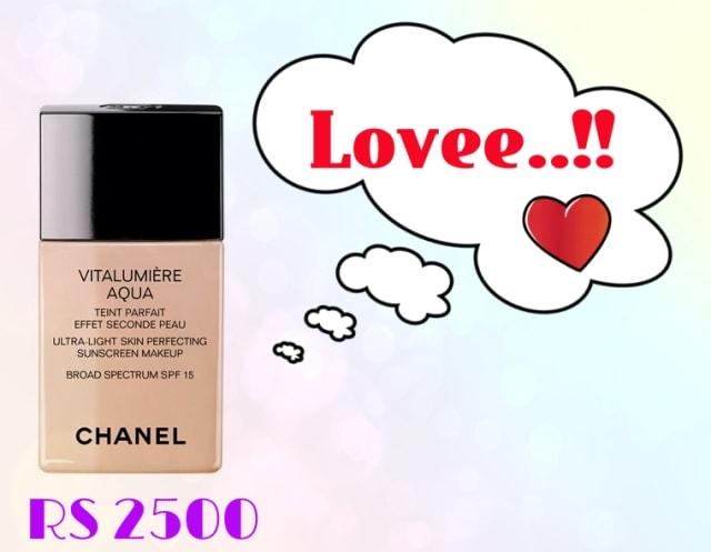 Bridal Beauty - Chanel Vitalumiere Aqua Foundation
