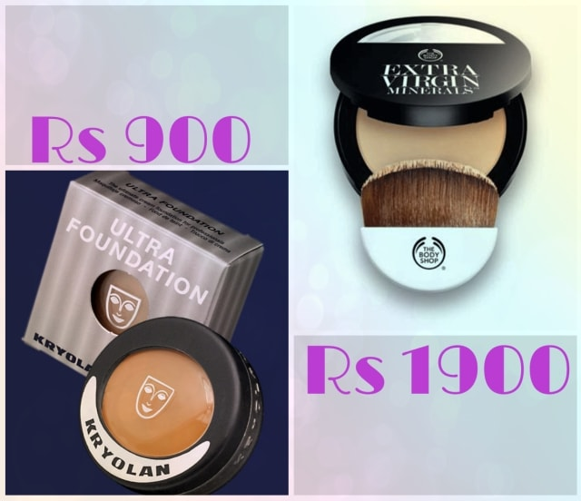 Bridal Beauty - Krylon Ultra and The Body Shop Extra Virgin Mineral Cream Compact Foundation