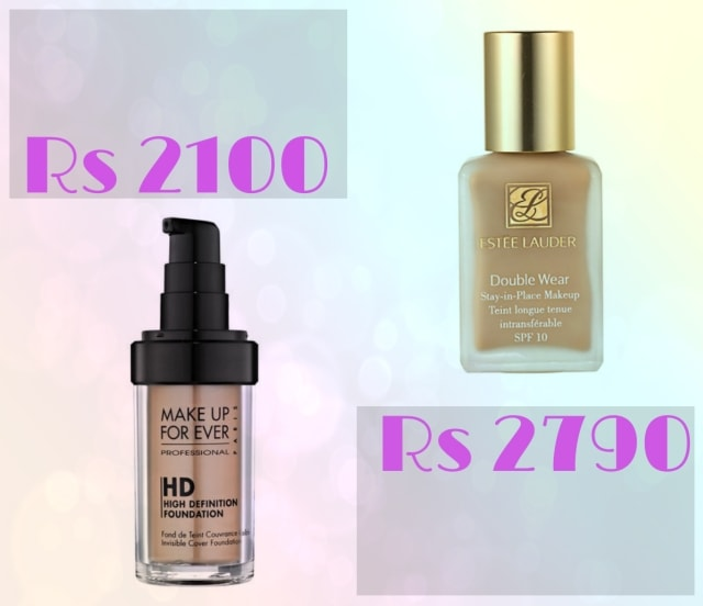 Bridal Beauty- Makeup Forever HD Foundation and Estee Launder Double Wear Foundation