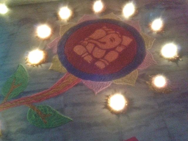 Diwali Rangoli Design 2 @2013