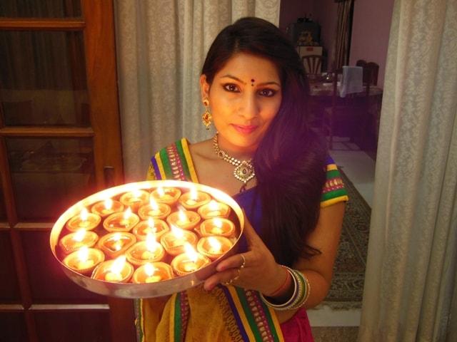 Diwali_Diyas_Lehenga