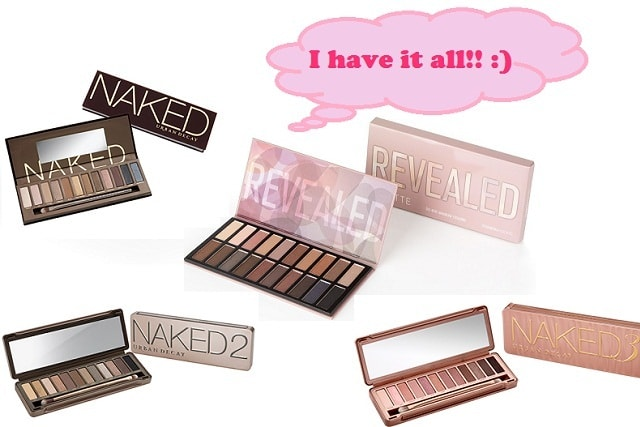 Dupe of Naked Palettes - Coastal Scents Revealed Palette