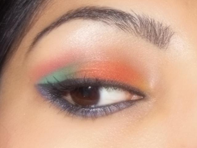 Eyes-O-Mania- Orange and Blue Eyes 1