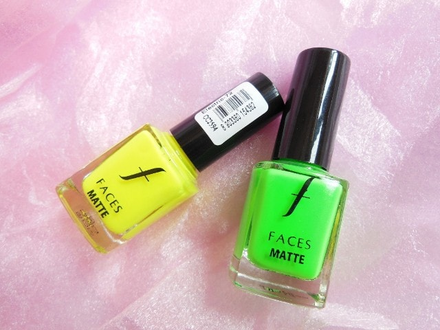 Faces Contest Prize - Faces Neon Matte Nail Paints