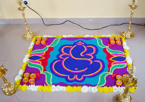 Favorite Rangoli Design 2