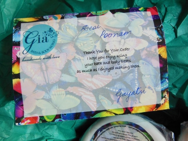 Gia Bath And Body Works Love Note