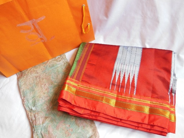 Giveaway Prize - Handlooms of India Saree