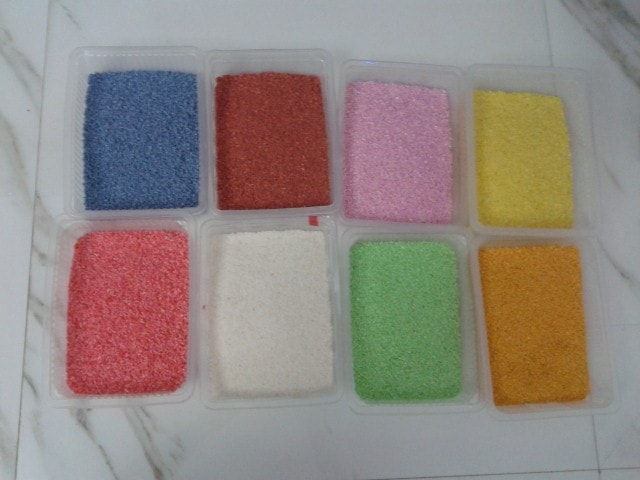 Rangoli Colors- Home Made with Rice