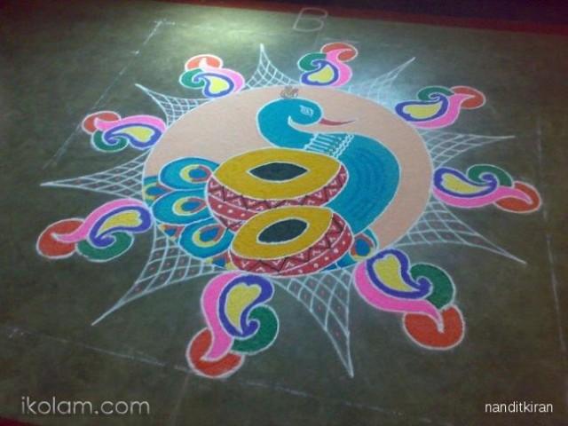 Rangoli Design 5