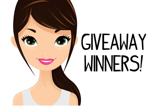 V Wash giveaway winners Announced