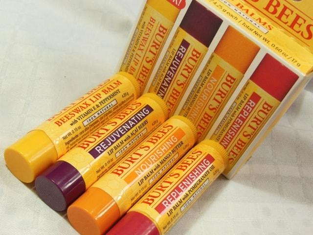 Burt's Bees Lip Balm Pack