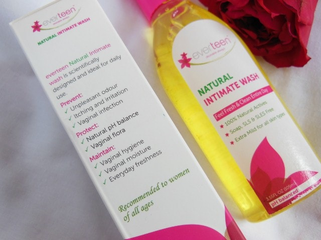 Everteen Intimate Wash Claims