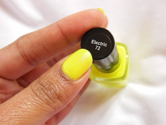 Faces Neon Matte Electric Nail Enamel