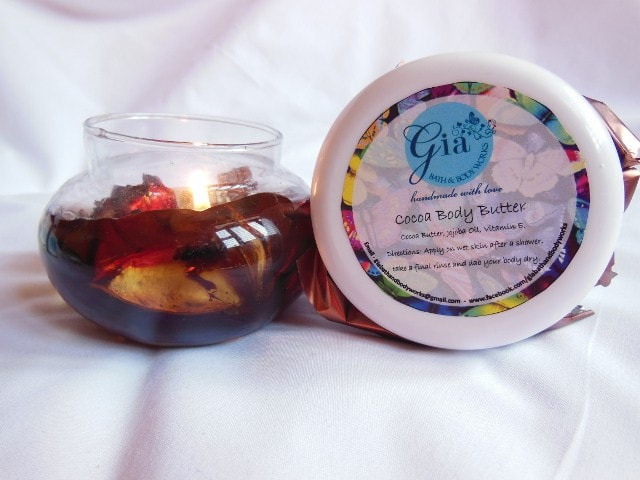 Gia Bath & Body Cocoa Body Butter Review