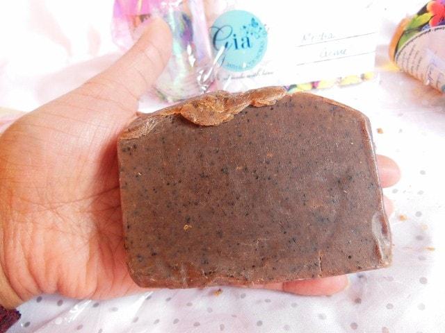 Gia Bath & Body Soap Mocha Creme Review