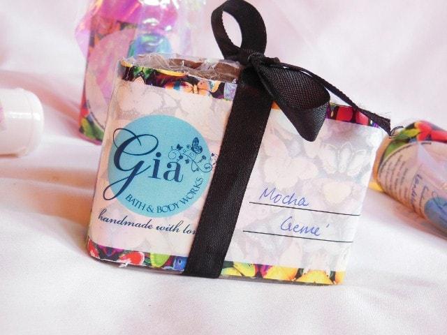 Gia Bath & Body Works Mocha Creme Soap Review