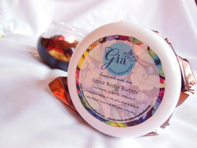 Gia Bath and Body Cocoa Body Butter