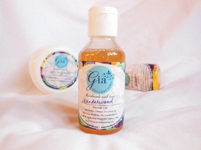 Gia Bath and Body Works Shower Gel - Sandalwood
