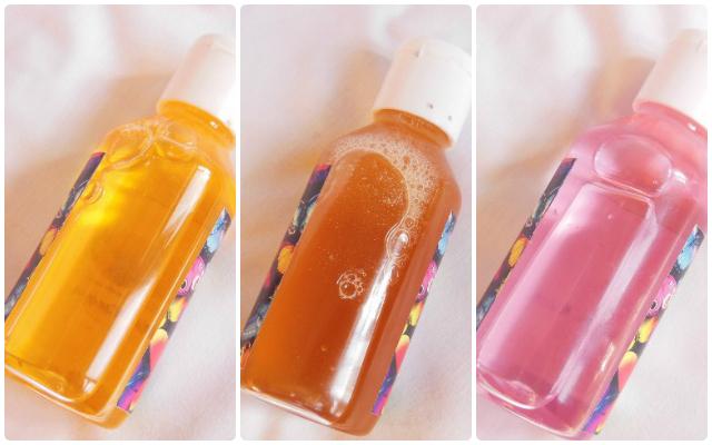 Gia Bath and Body Works Shower Gels - Sastuma, sandalwood and Rose absolut