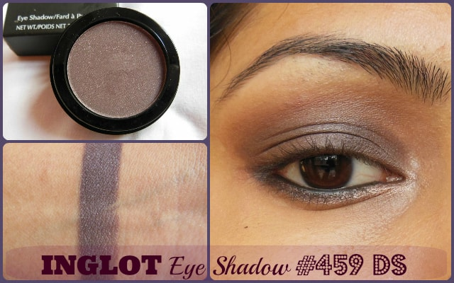 INGLOT Eye Shadow #459 Double Sparkle Look