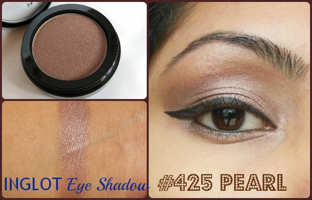 Inglot Eye Shadow Pearl #425 Look