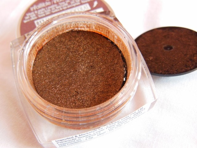 L'Oreal Infallible Eye Shadow Endless Chocolate Review